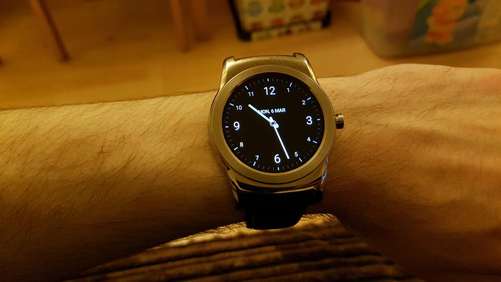 Android Wear Watch Face Power Saver Mode