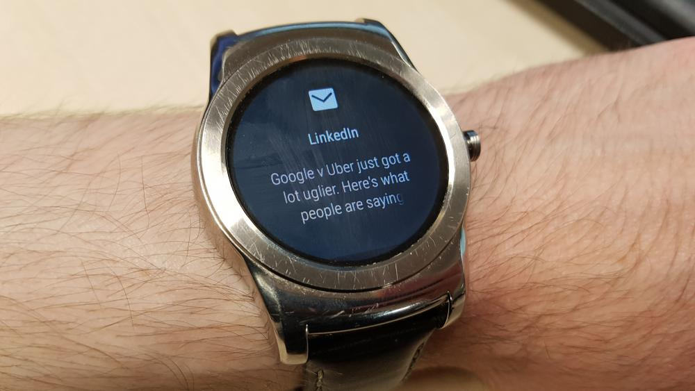 Android Wear 2.0 Message Notification