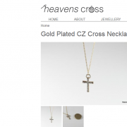 Heavens Cross Product Page Example