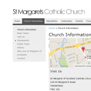 St Margaret's Website Church Information