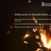 BookEmber Splash Screen Homepage