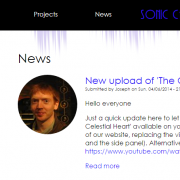 News Page Screenshot