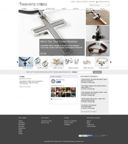 Heavens Cross Home Page
